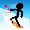 Stickman Snow Ride
