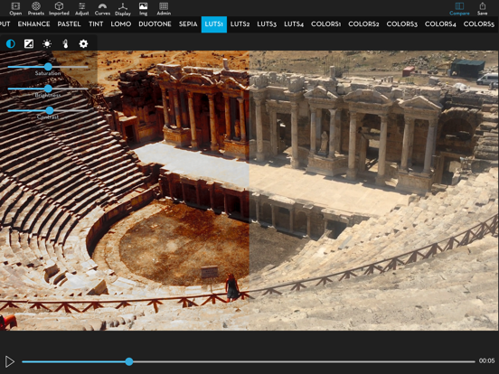 Video LUT Editor Screenshots