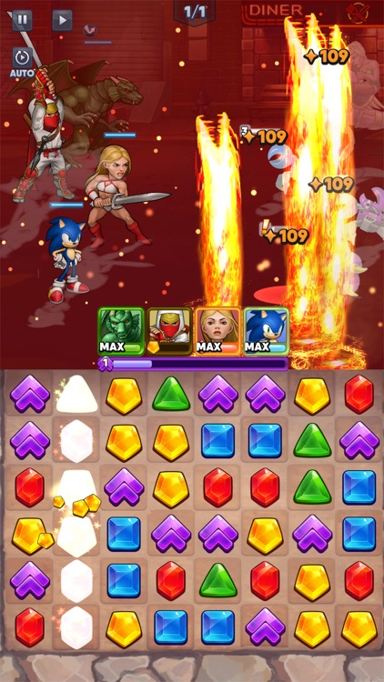 SEGA Heroes: Match 3 RPG Game screenshot-6