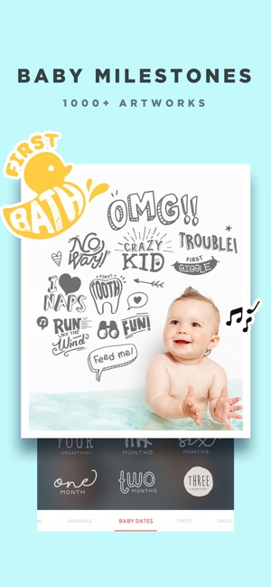 Baby Story - Pics Editor on the App Store