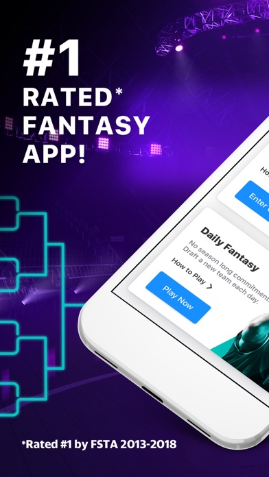 Screenshot for Yahoo Fantasy Football & more in United States App Store