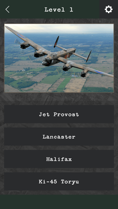 Military Aviation Quiz screenshot one