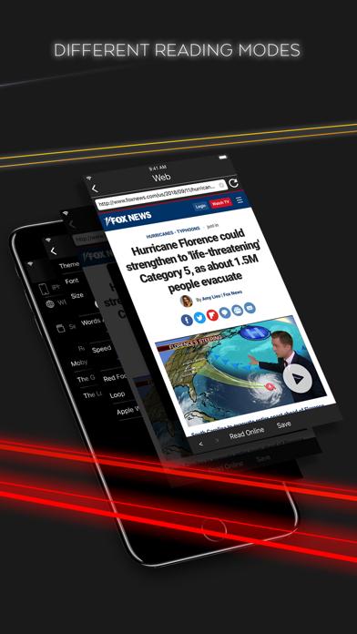 Focus - Speed Reading Screenshot