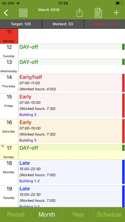FlexR (Shift planner) screenshot-5