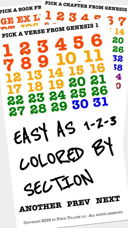 Instant Bible, Color