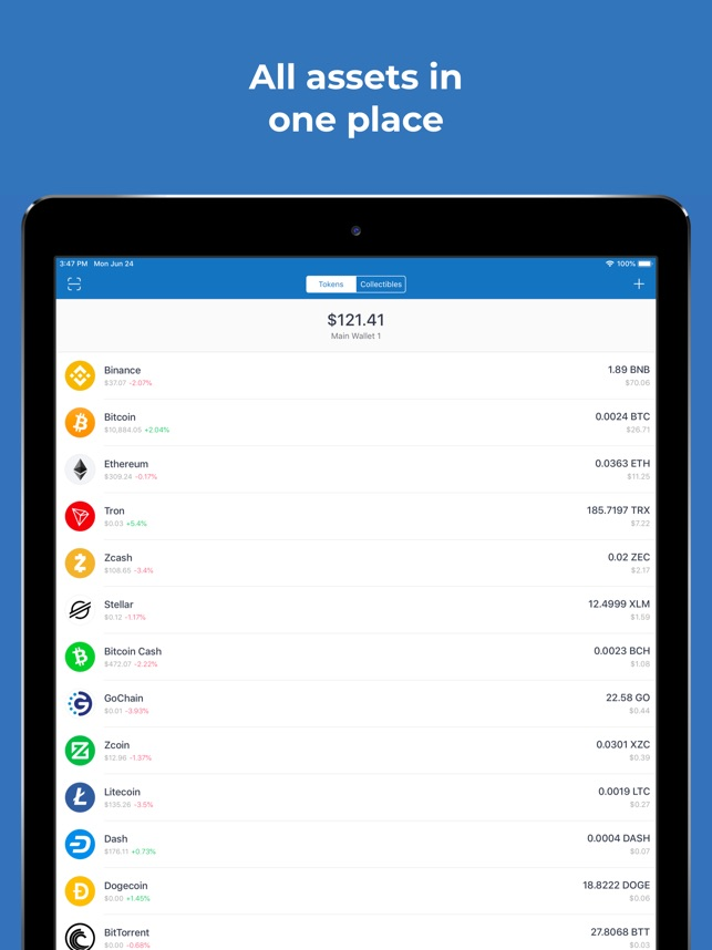 Trust: Crypto & Bitcoin Wallet on the App Store