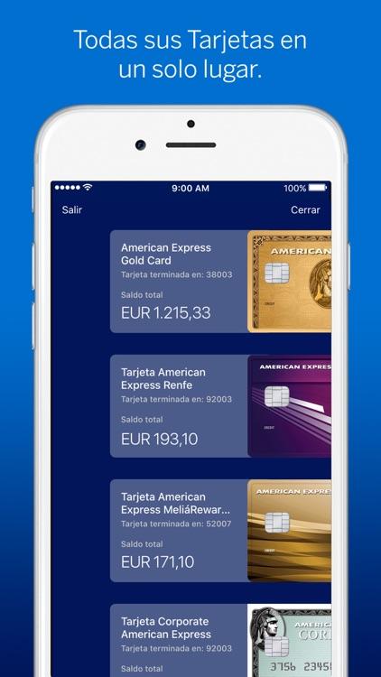 Amex España screenshot-4
