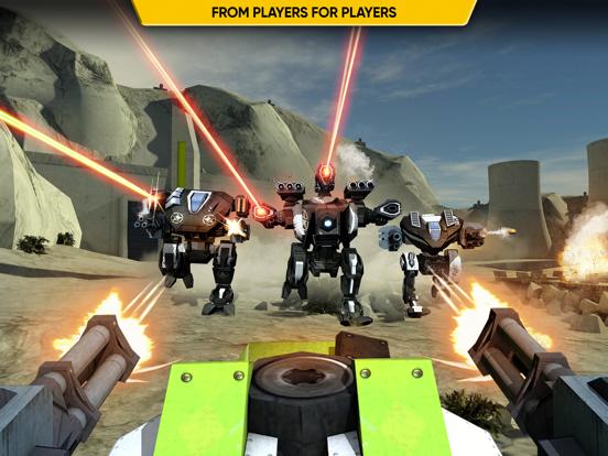 Screenshot #6 pour Mech Battle - Robots War Game