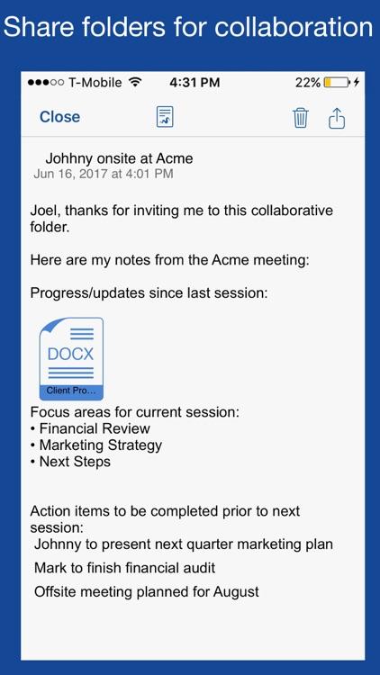 Notate Pro for MobileIron screenshot-4