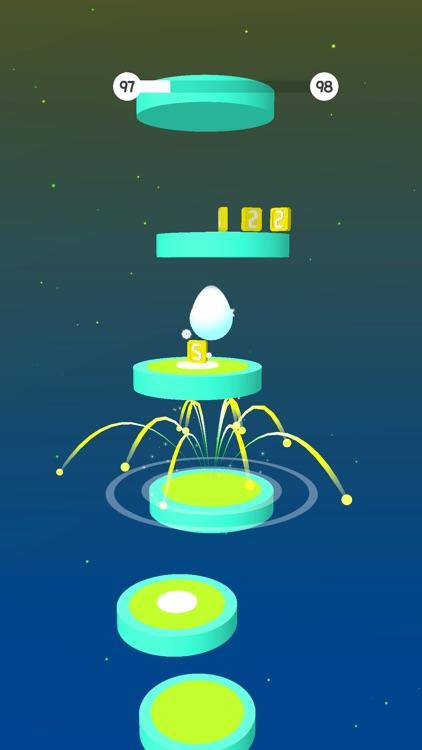 Hop Ball Run: Jump on Tiles 3D screenshot-4