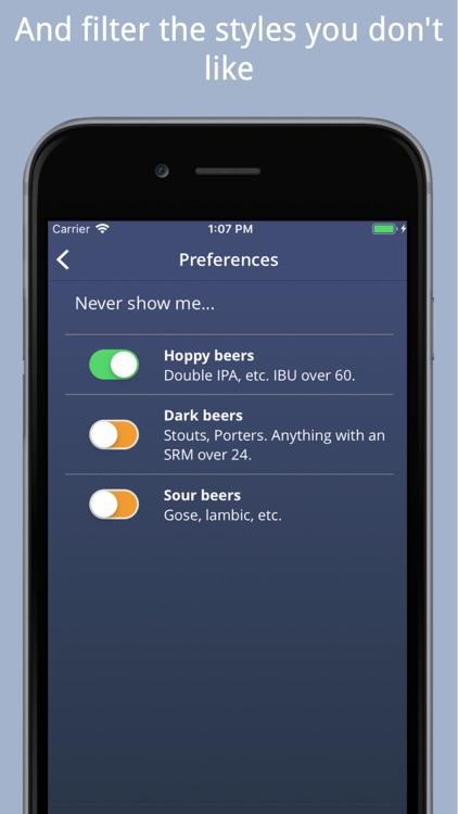 Beer Goggles: Find great beer! screenshot-4