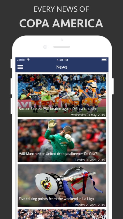 Football Live - Copa 2019 screenshot-3