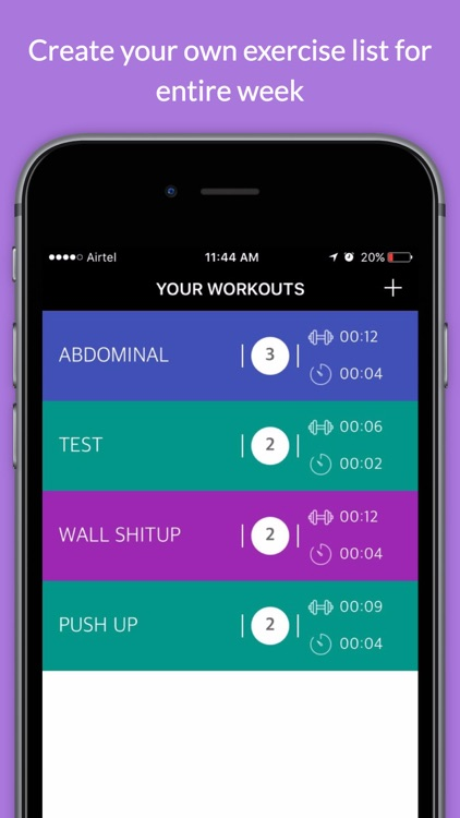 Workout Timer Stopwatch tabata
