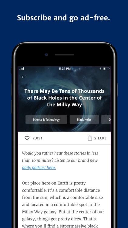 Curiosity - Get Smarter Daily screenshot-4