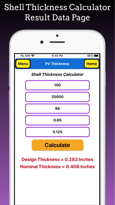 Pressure Vessel Thickness Pro screenshot 8