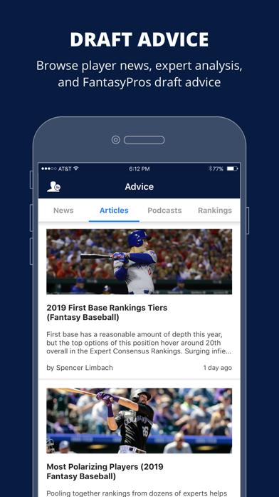 Fantasy Baseball Draft Wizard Screenshot