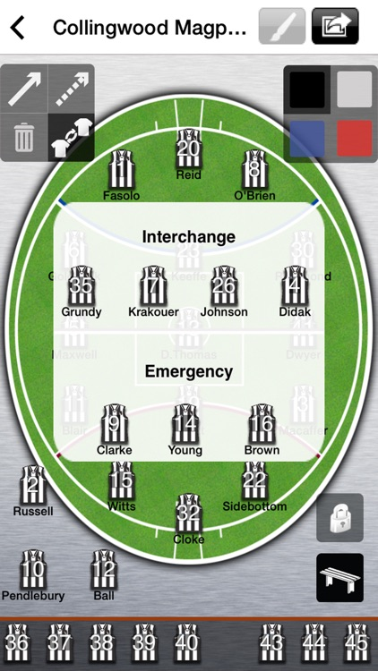 AFL Lineup 2020 screenshot-1