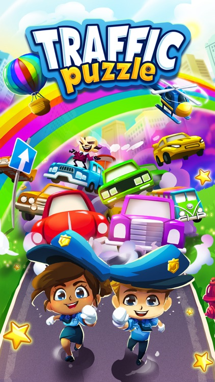 Traffic Puzzle - Match 3 Game screenshot-5
