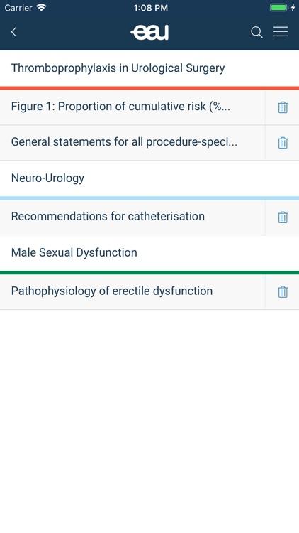 EAU Guidelines screenshot-4