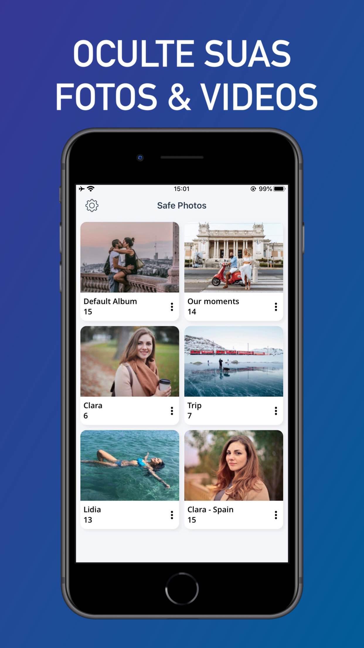 Screenshot do app Safe Photos - Fotos Privadas