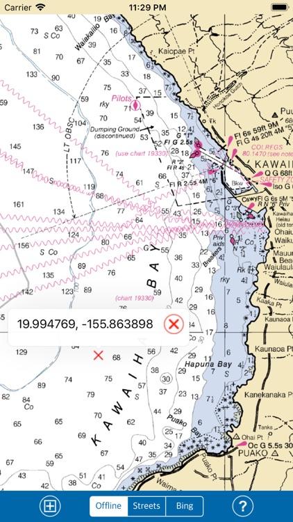 HAWAII ISLANDS – Marine Map HD screenshot-3