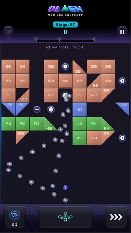 Bricks Breaker Clash screenshot-8