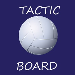 Volleyball tactic board