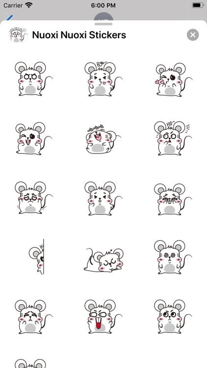 Nuoxi Nuoxi Stickers