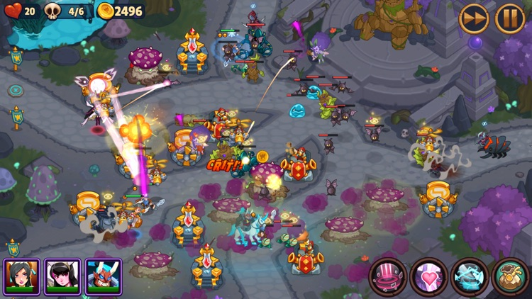 Realm Defense: Hero Legends TD screenshot-6
