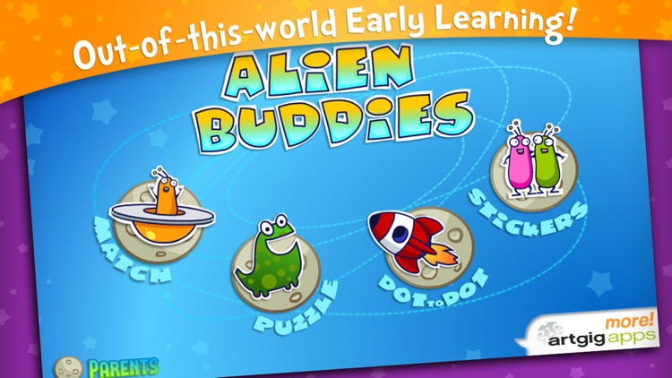 Alien Buddies – Preschool Fun screenshot-0