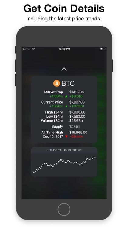 CryptoPal - Bitcoin Tracker screenshot-4