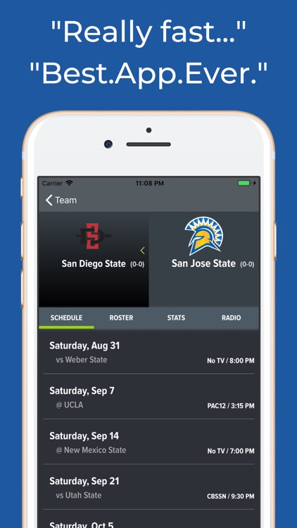 San Jose State Football App screenshot-8