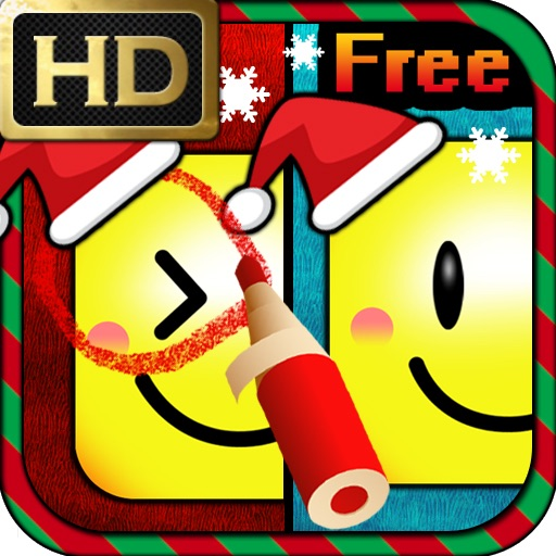 Just Find It HD Free - Christmas Edition iOS App