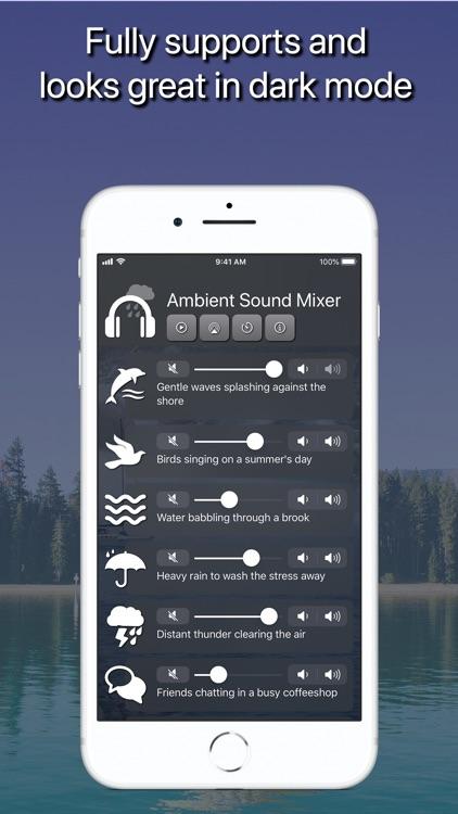 Ambient Sound Mixer