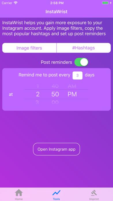 WatchView for Instagram app image