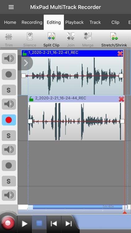 MixPad Music Mixer screenshot-5