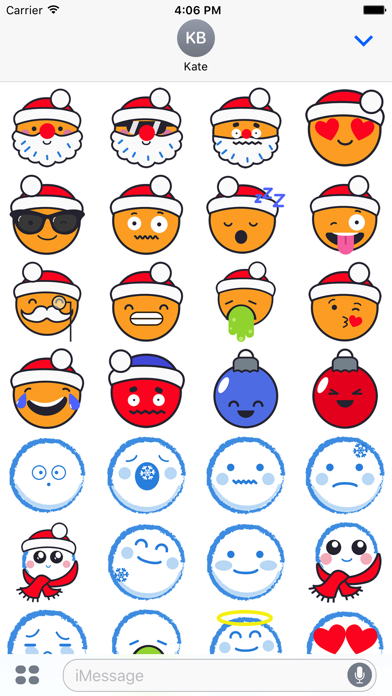 New Year Emoticons screenshot three