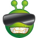 Alien Emoji Sticker-Pack