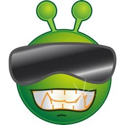 Alien Emoji Sticker-Pack