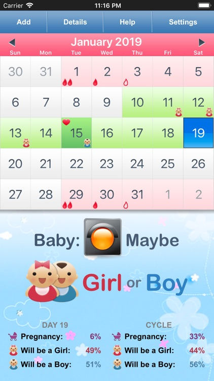 Fertility & Period Tracker
