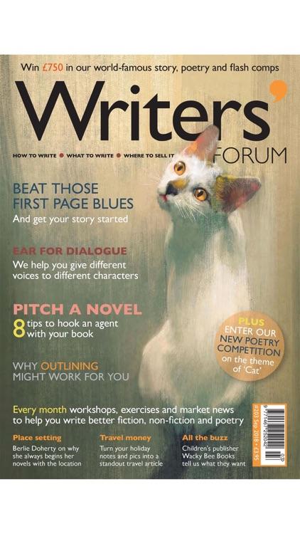 Writers' Forum Magazine screenshot-8