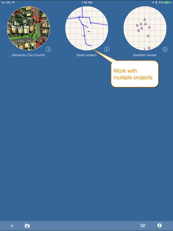 iGIS for iPad screenshot-3
