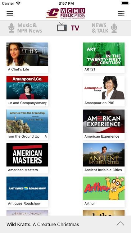 WCMU Public Media App screenshot-3