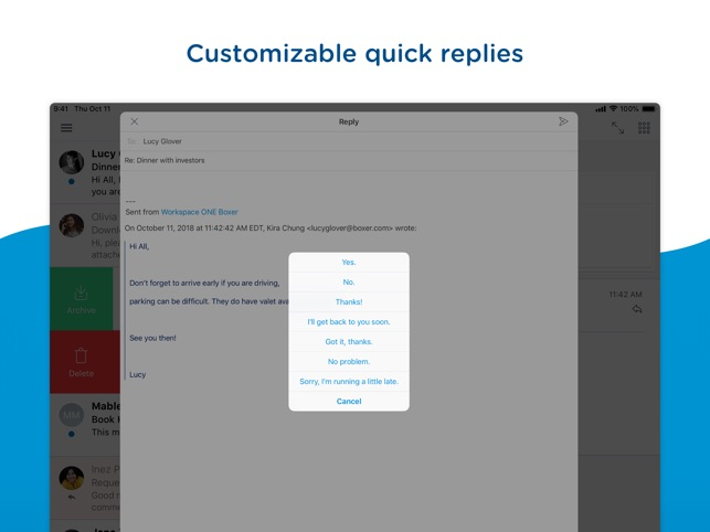 Boxer - Workspace ONE on the App Store
