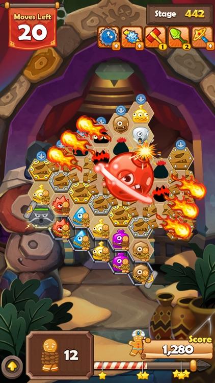 Monster Busters: Hexa Blast screenshot-0