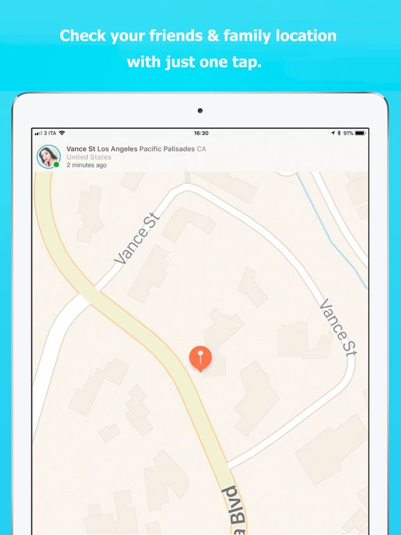 Sensory - Friends Locator - GPS Location Tracker for Friends, Family, Couples, iPhone screenshot