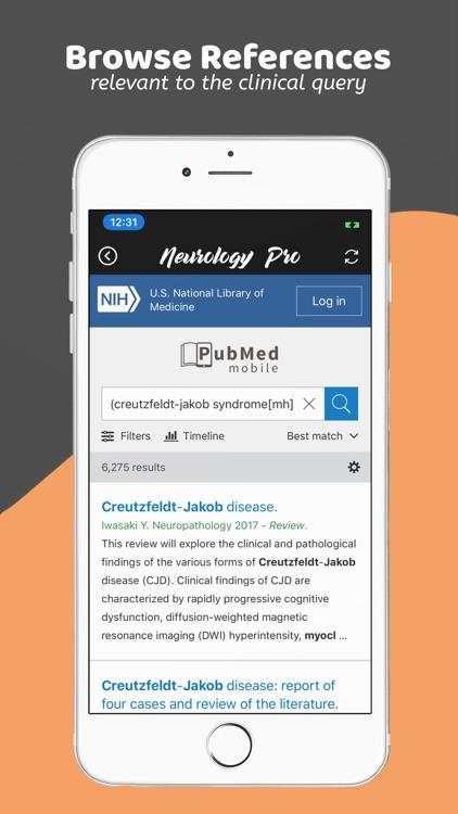 Neurology Pro - A DDx App screenshot-9