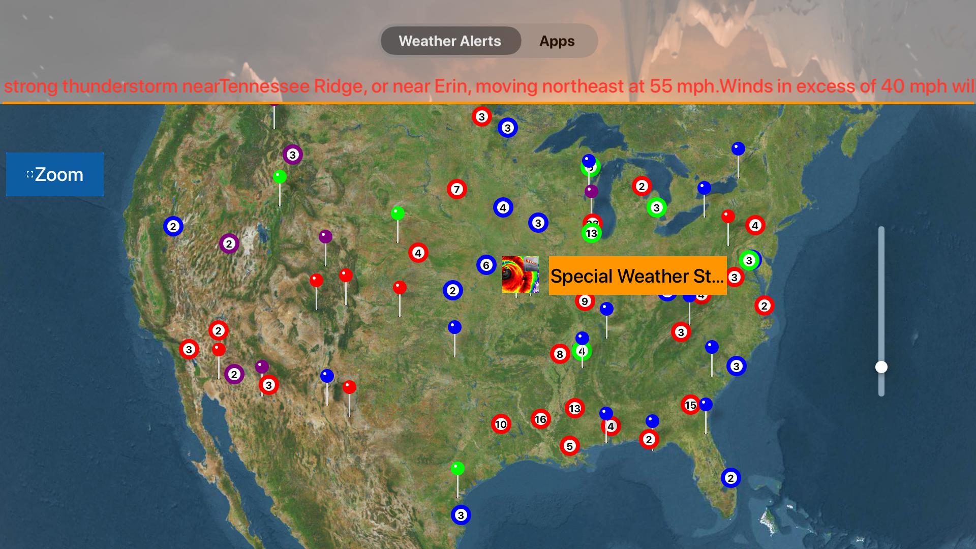 Instant NOAA Alerts 3D Lite screenshot 20