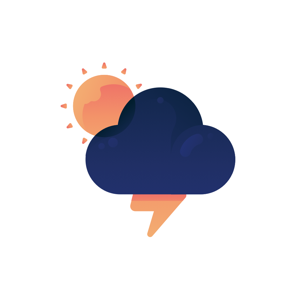Colorful Weather Sticker - Stickers app