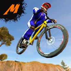 Mayhem Mountain Bike BMX Race